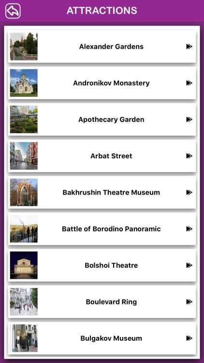 Moscow Offline Tourism