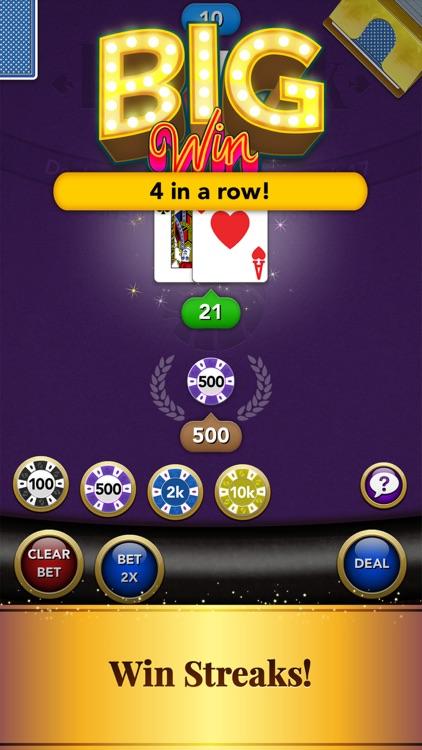 Blackjack: Casino Card Game screenshot-6