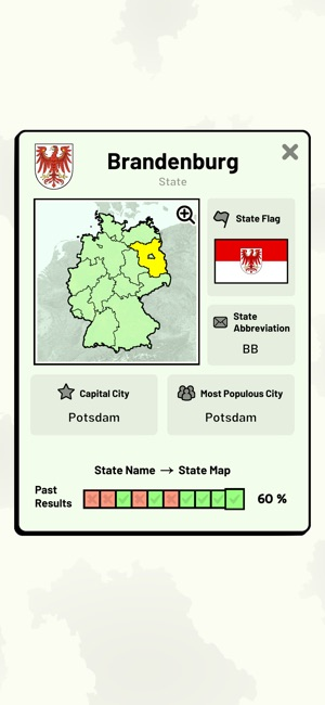 German States Quiz On The App Store