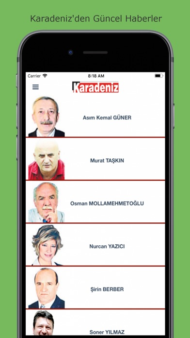 Karadeniz Gazete screenshot four