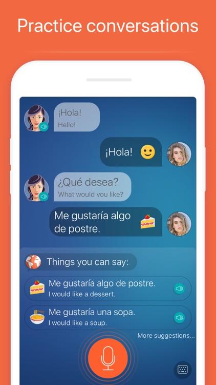 Learn Spanish: Language Cours screenshot-3