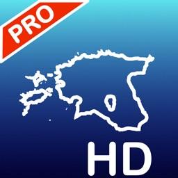 Aqua Map Estonia, Nautical GPS