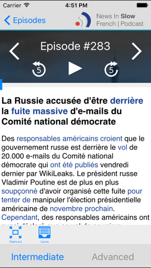 News in Slow French on the App Store