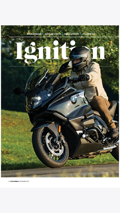 Cycle World Magazine app image