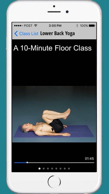 Lower Back Yoga - Floor Class screenshot-0