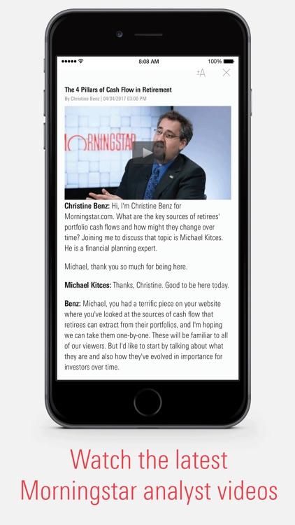 Morningstar for Investors screenshot-3
