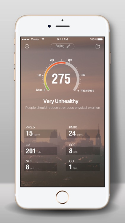 Air quality -AQI PM2.5 Checker screenshot-4