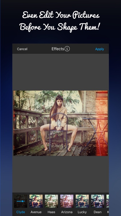 Adult Shapes : Picture Editor, Effects & More screenshot-3