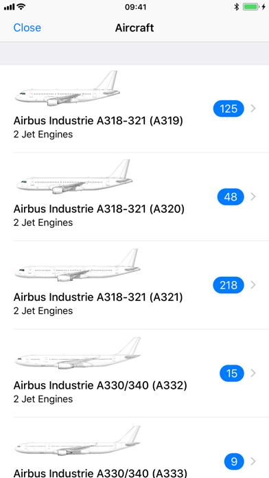Airline Finder Screenshot