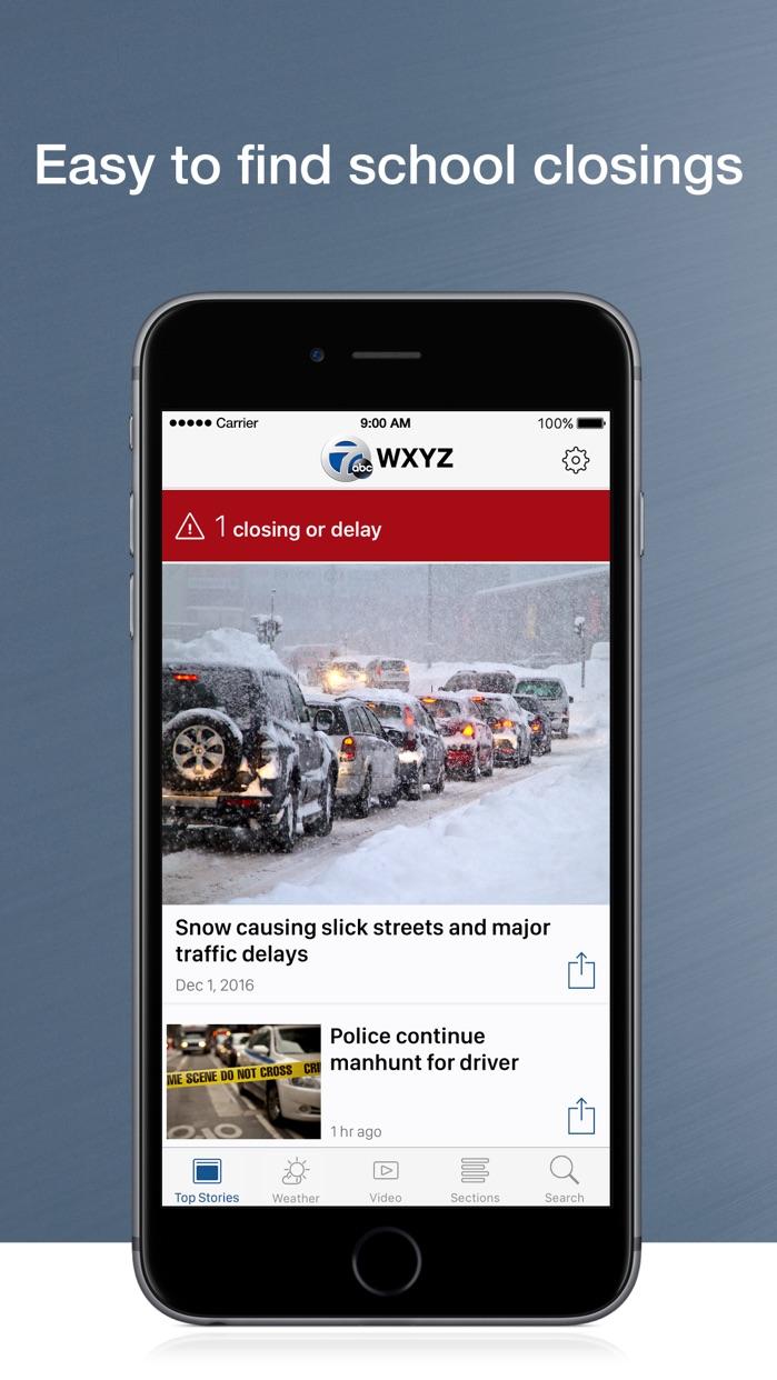 WXYZ 7 Action News in Detroit Screenshot