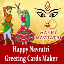 Navratri Garba Greeting Cards Maker