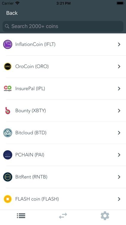 Dawn Crypto Tracker/Converter screenshot-4