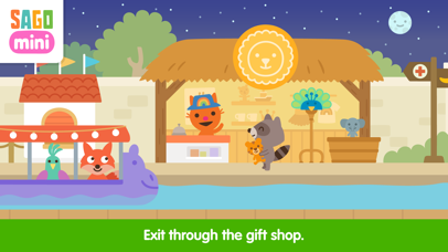 Screenshot for Sago Mini Zoo in United States App Store