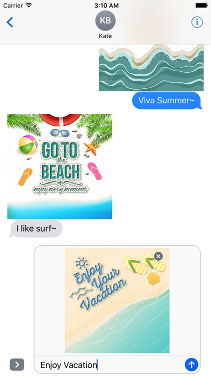 Summer Quotes & Message written on the Sand screenshot-3