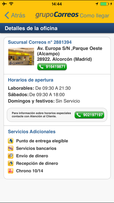 download Correos Info apps 3
