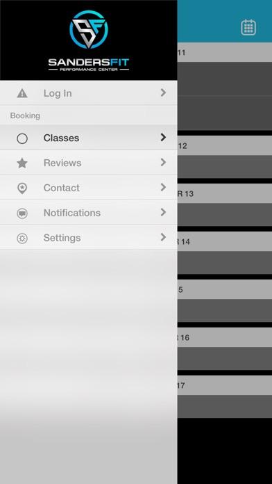 SandersFit Performance Center Screenshot