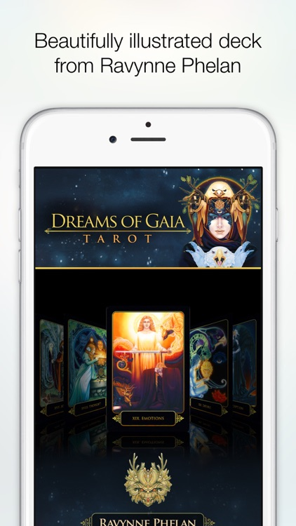 Dreams of Gaia Tarot screenshot-4