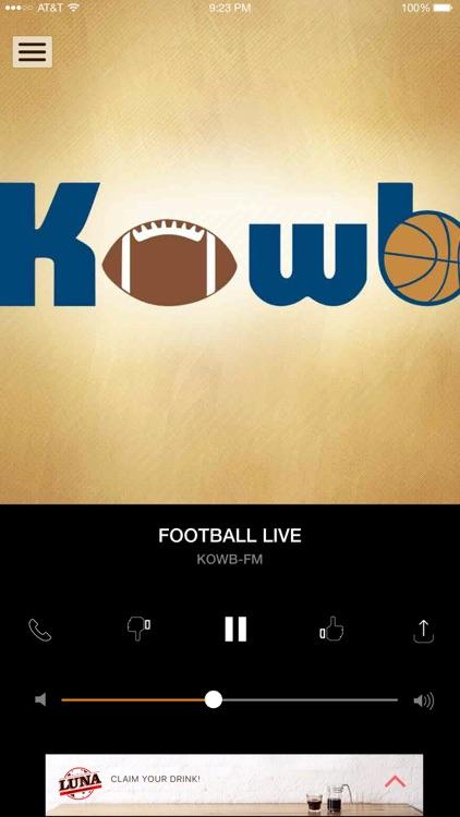 KOWB Radio