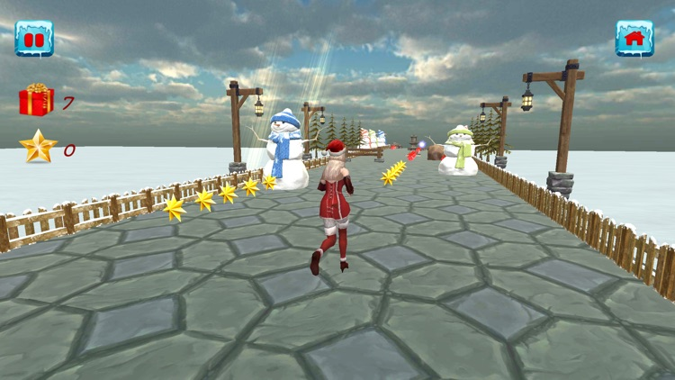 Christmas Santa Girl Run