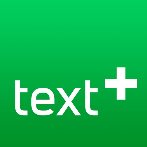 textPlus: Unlimited Text+Calls application logo