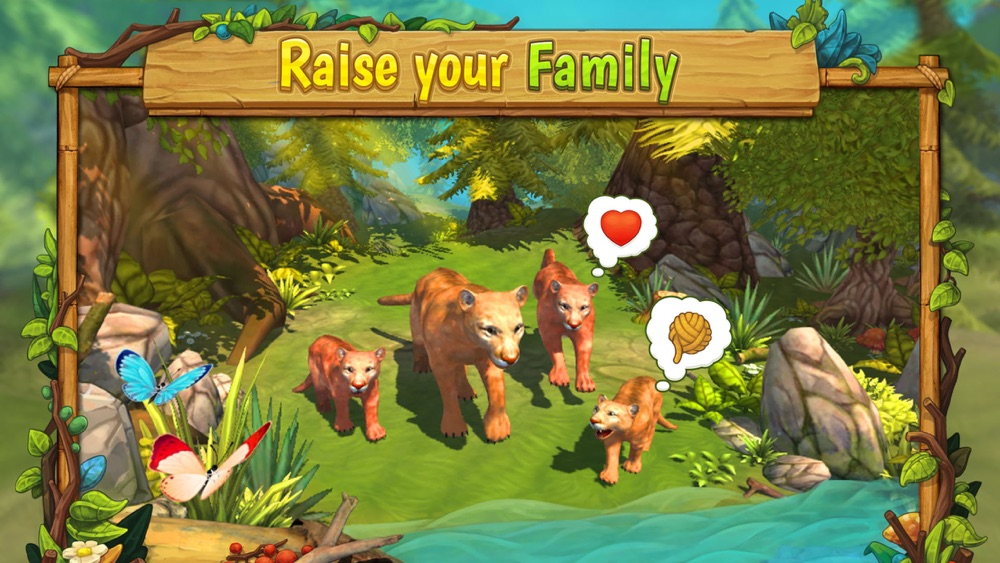 Cougar Family Sim Wild Forest Cheat Codes