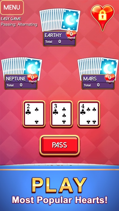 Screenshot #6 for Hearts - Classic Card Game