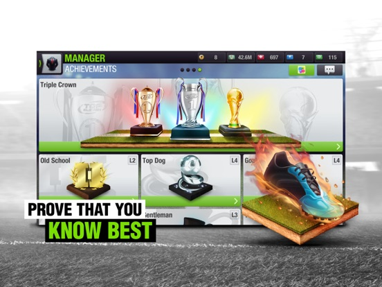 Top Eleven 2018 Soccer Manager Screenshot