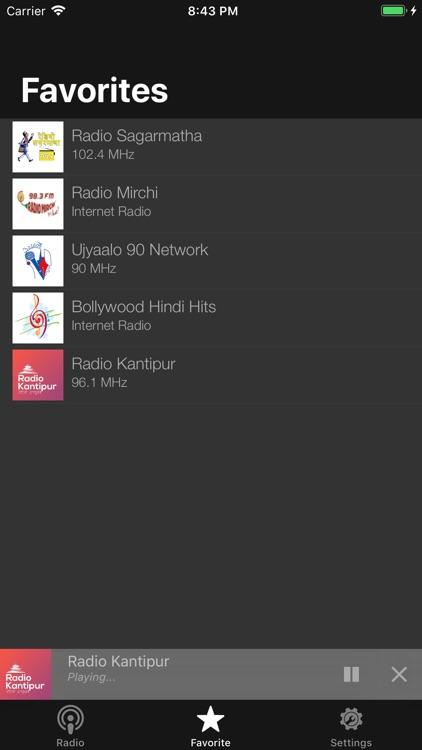 Hamro Nepali FM Radio screenshot-8