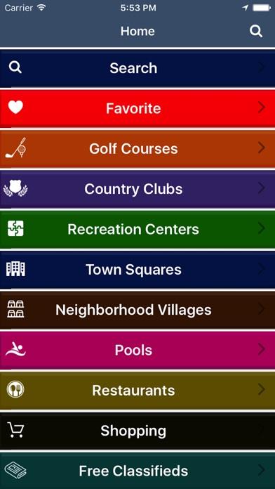 Villages GPS Screenshot