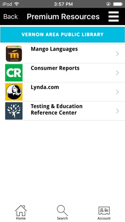 Vernon Area Public Library Mobile screenshot-4