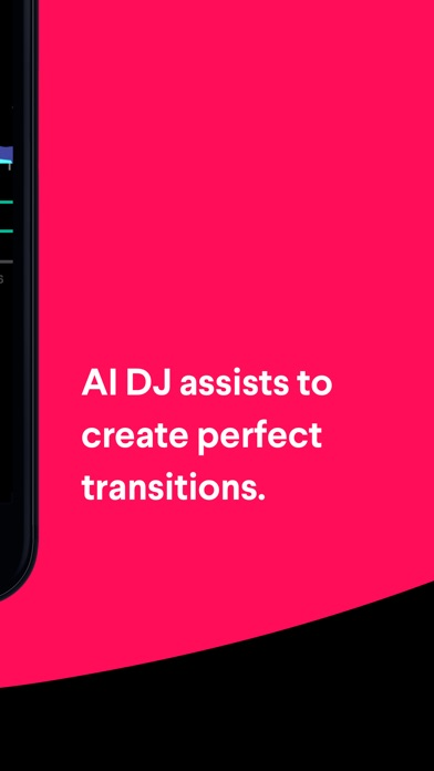 Pacemaker - AI DJ app Screenshot