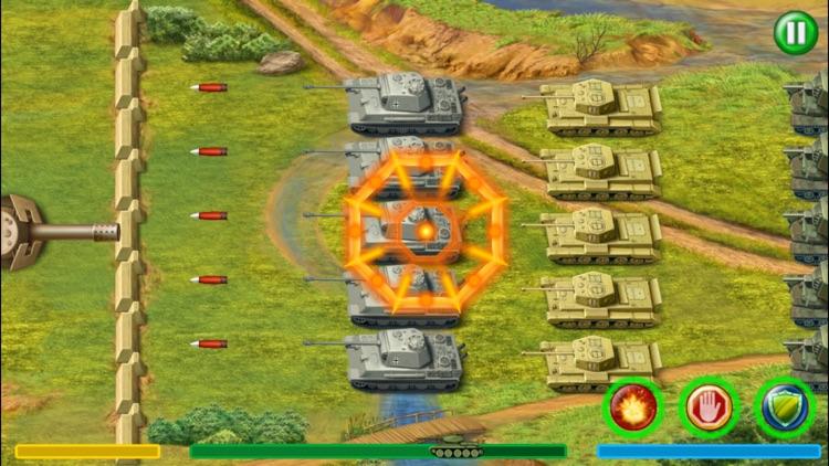 World War 2 Tank Defense screenshot-4