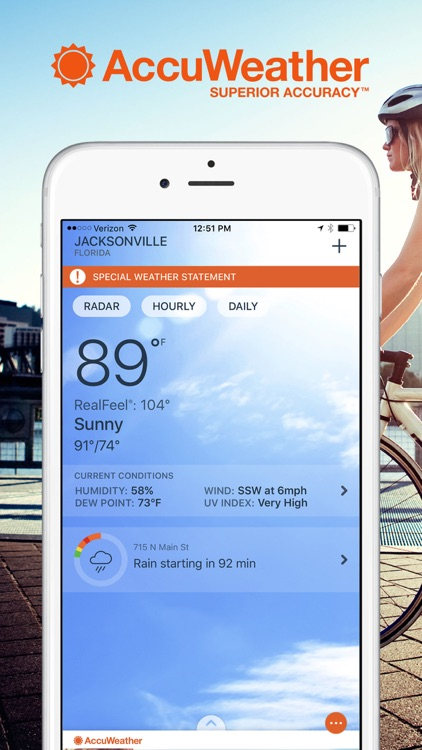 AccuWeather: Weather for Life