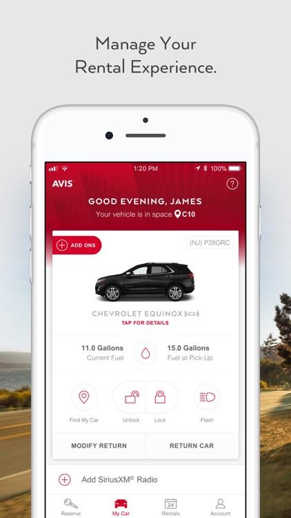 Avis - Car Rental screenshot-4