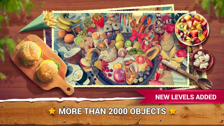 Hidden Objects Food