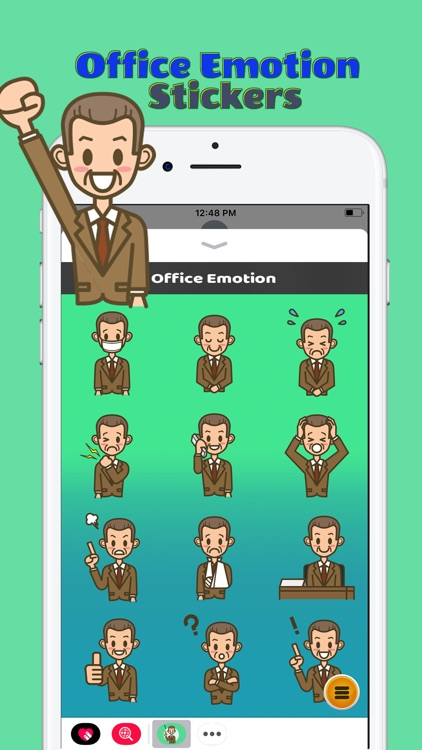 Office Emotion Stickers