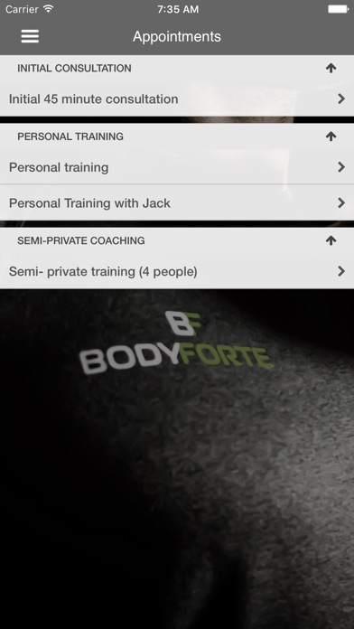Body Forte Screenshot