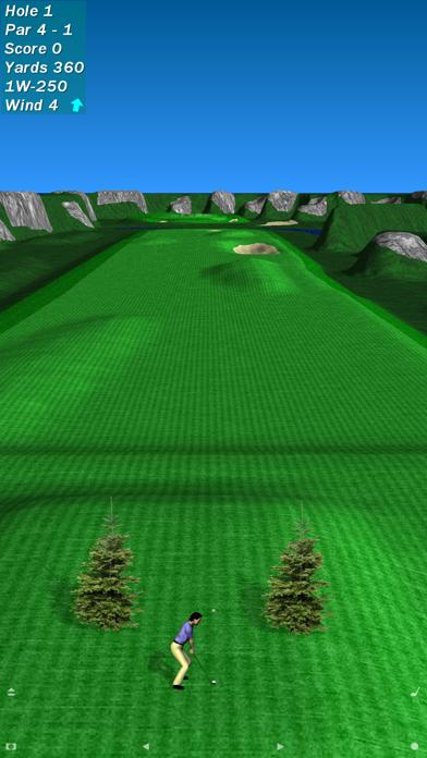 Par 72 Golf III screenshot one