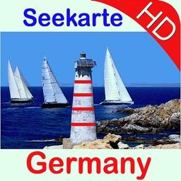Marine: Germany HD - GPS Map Navigator