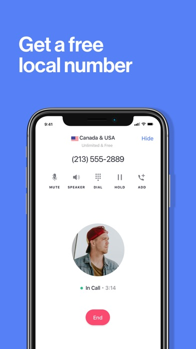 TextNow: Call + Text Unlimited_苹果商店应用信息下载量_评论_