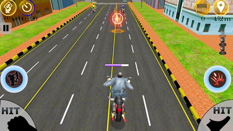 Moto Bike Attack Racing screenshot-3