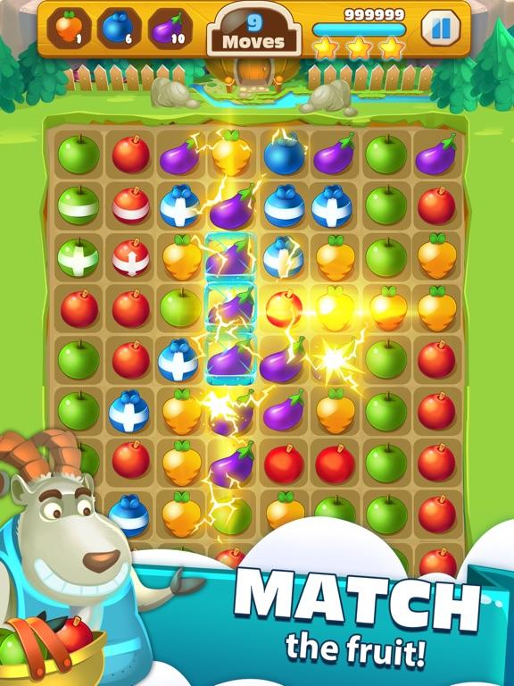 Fruit Pop Land - Match 3 Games   App Price Drops
