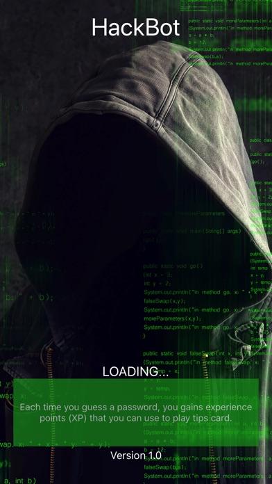 Hacking Game HackBot screenshot 1