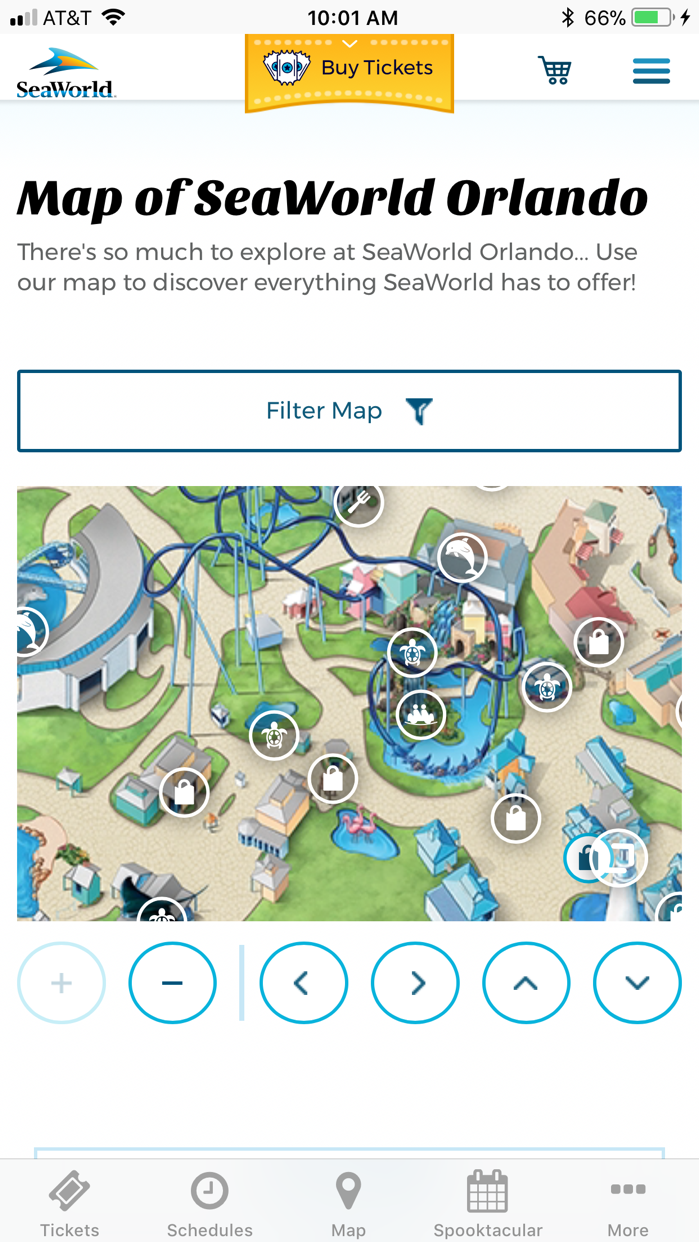 SeaWorld Discovery Guide Screenshot