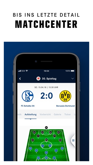 Screenshot for FC Schalke 04 - Offizielle App in Germany App Store