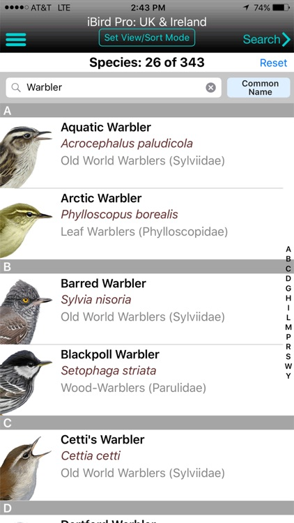 iBird UK Pro Guide to Birds screenshot-0