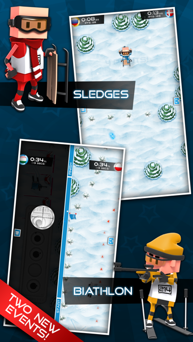 Screenshot #1 pour Flick Champions Winter Sports