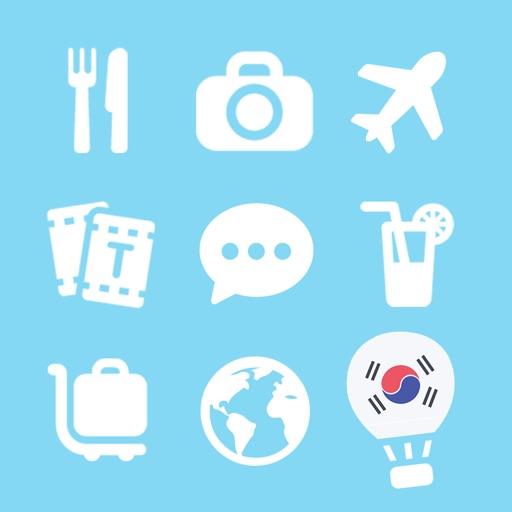 LETS Travel Korea! Speak Korean Phrase Guide Book