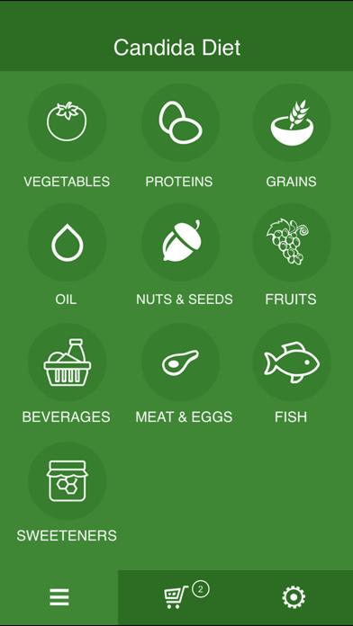 Candida Diet Shopping Listのおすすめ画像2
