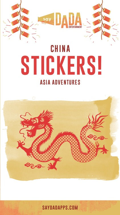 China Stickers - My Asian Adventure